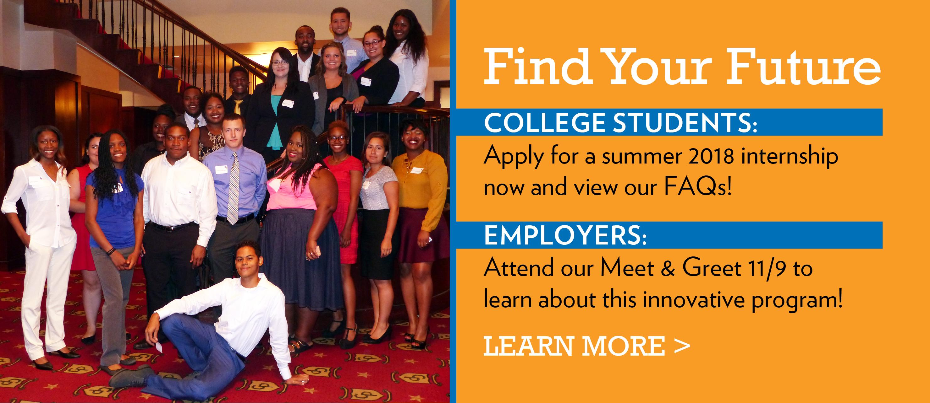 DCFS Find Your Future Internships