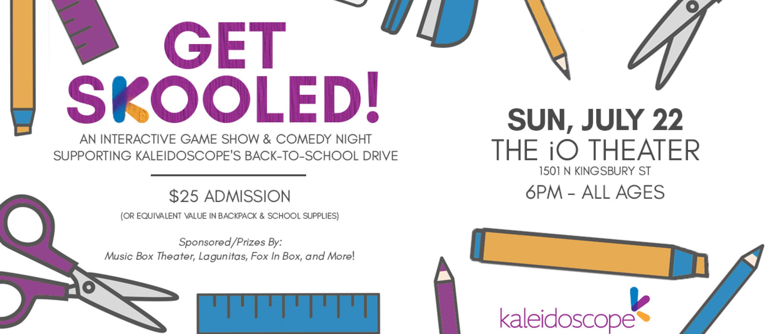 Kaleidoscope 4 Kids - Homepage Slider - Get Skooled